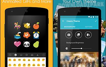 Ginger keyboard - emoji, gifs