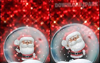 Santa bobble live wallpaper