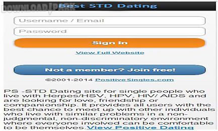 Dating with std