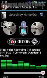 crazy voice recorder