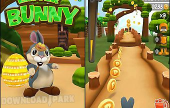Easter bunny. rabbit frenzy: eas..
