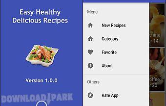 Easy healthy delicious recipes