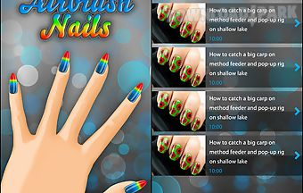 Perfect airbrush nail art free