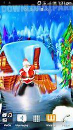 santa christmas hd live wallpaper