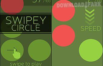 Swipey circle