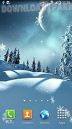 winter night by blackbird wallpapers