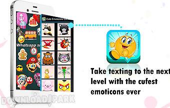 cute emoticon sticker