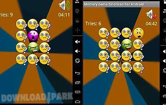 memory game emoticon