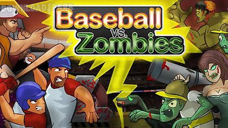 baseball vs zombies