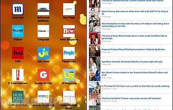 Celebrities online news