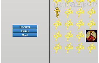 Christian symbols memory game