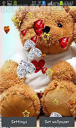 Teddy Bear Love Android Live Wallpaper Free Download In Apk