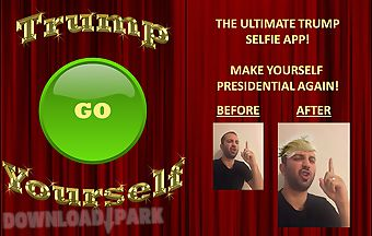 Trump yourself the selfie app