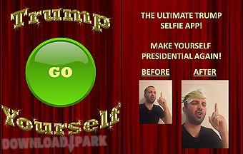 Trump yourself the selfie app