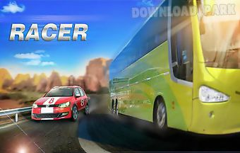 Turbo speed racer: real fast