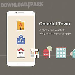 colortown line launcher theme