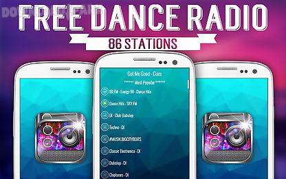 free dance radio