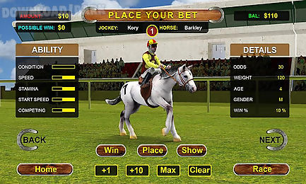 horse racing simulator 3d
