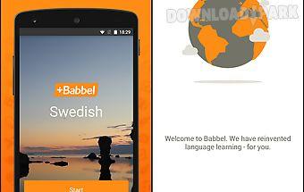 Learn swedish with babbel