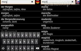 Slovak - german offline dict.