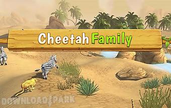 Cheetah family sim