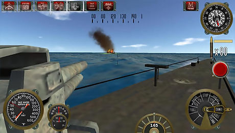 silent depth: submarine sim