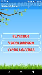 Arabic alphabet Android App free download in Apk
