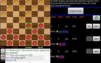 Checkers online (free)
