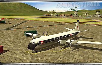 Classic transport plane 3d