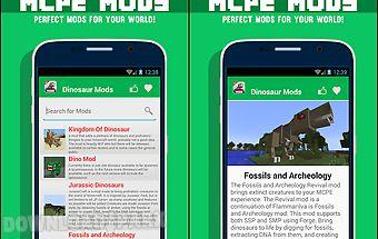 Dinosaur mods for mcpe