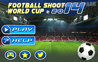 Football shoot world cup 2014