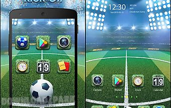 Kick off go launcher theme