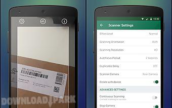 Manatee barcode scanner