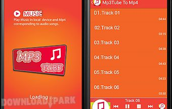 Mp3tube to mp4: music player