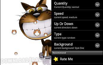 Funny cat live wallpaper pro