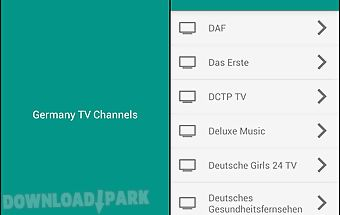 Germany tv channels
