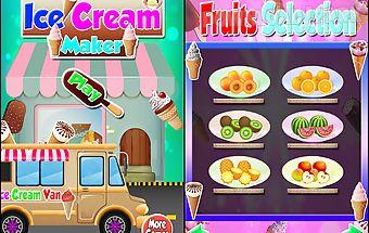 Ice cream - maker games