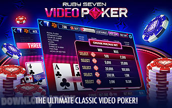 Ruby seven video poker