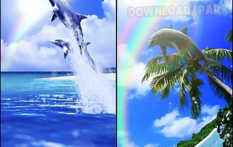 Tropical ocean-rainbow trial