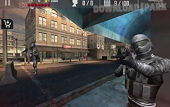 Urban commando shooting 3d