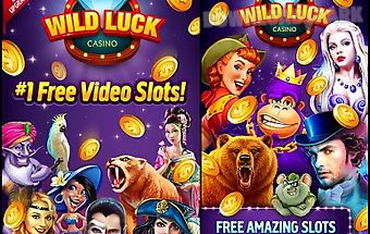 Wild luck free slots