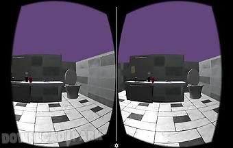Bathroom view virtual reality