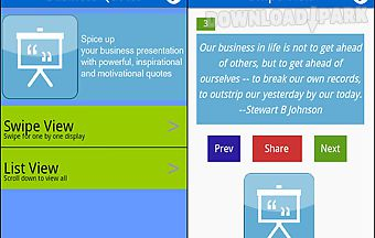 Business presentation quotes
