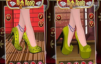 Celebrity high heels shoes
