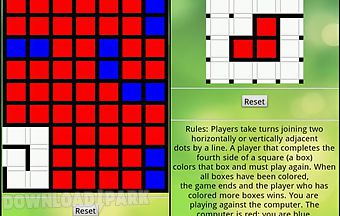 Dots and boxes free