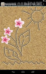 draw in sand