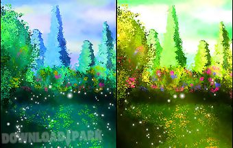 Garden by wallpaper art