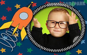 Happy kids photo frames