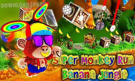 super monkey run banana jungle