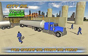 Transport truck : oil tanker